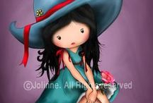 Illustration - Joline  (Suzanne  Wolcott)