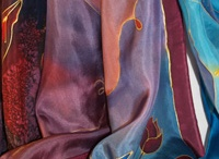 Silk/fabric dying