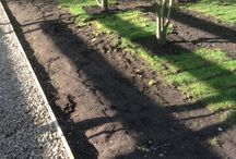 lawn rebuild / Rebuilding a badly laid lawn on the private estate I work at