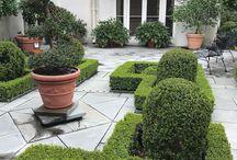 private resident garden
