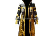 WWE Goldust Hooded Leather Halloween Coat / Get this stylish Goldust Hooded Leather Costume at most low price from Sky-Seller and avail free Shipping.
