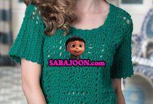 crochet pattern / Knitting and crocheting models and pattern