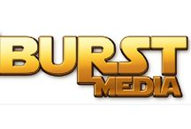 1Burst Media logo / Our new logo