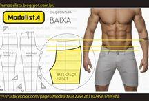 Sewing - men's pants