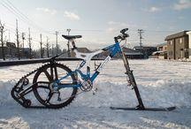 велоснегоход