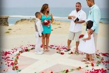 Renouvellement de vœux sur la plage