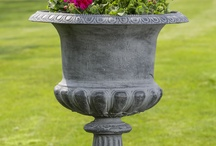 Iron Planters and Urns / by Garden-Fountains.com