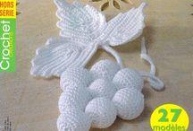 La finesse du crochet (irlandais, lace....)