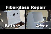 Fibreglass repair