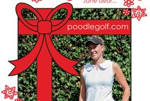 Poodle Golf Holiday Gift Guide 2014 / COUNTDOWN TO DECEMBER 25th! Our holiday sale is on at shop.poodle.eu thru 25th December - 25% off all items on our webshop! Plus each time we feature an item on our Holiday Gift Guide board, the discount for that item is doubled to 50% off for the duration of the sale! (while sizes/supplies last) And we couldn't resist putting our own twist on the holiday tunes!