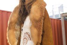 Inspiration Board for fur shoot