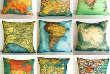 Maps and Globes and Travel Dreams...