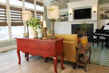 Family Room   The Black Goose Design / Family rooms... they are the space that's beautiful but comfortable enough to relax and gather for those family moments we love.