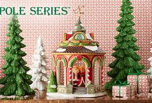 Department 56 - North Pole Series / The magic and majesty of the North Pole! In this lighted Christmas Village collection, you are taken back to being a kid again.