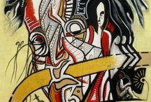 miei quadri  / this is my artworks