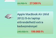 Akciós Laptopok, Tabletek, Elektronikai Cikkek / #minőségi #laptopok, #notebookok, #tabletek, #okosórák, nyomtatók, #kiegészítők, #laptop #táskák stb.