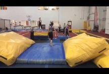 Gym drills/ideas / Gymnastics