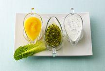 salsas o vinagretas para ensaladas