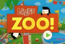 """lazoo zoo"" app / It's snack time at the zoo, and everybody's hungry! Of course this is no ordinary zoo, it's Lazoo Zoo, filled with giraffes whose spots magically change depending on what they're fed, an ape who sprouts new hairstyles when he's overfed and a finicky lion who tells you what he feels like eating. Just like at the real zoo, have fun feeding the animals using the handy dandy food dispenser. And if you don't see the food you want in the dispenser, simply draw something new or look for hidden foods. / by LAZOO"