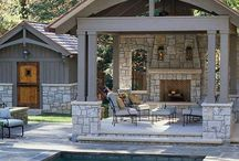 Ideas & Inspiration - Pools & Ponds / Sometimes we see paver decks and hardscape features around pools and ponds that inspire us!  (And hopefully you too!)
