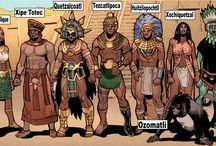 Fantasy : Mythology : Aztec