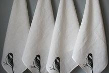 12) Kitchen textiles