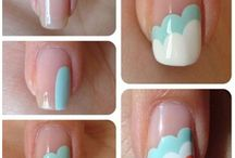 nail art patterns step by step