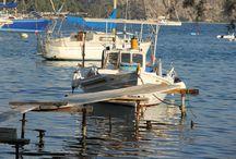 Vivari Argolida - Fishing Village in the Peloponnese Greece