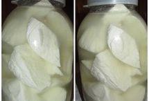 Peynir yapımı.