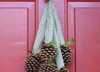 Χριστουγεννιάτικη διακόσμηση σπιτιου