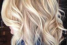 Blonde & Buttery hair color / Blonde hair with yellow tones