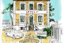 Les Charmettes, entrée au n°64 Boulevard Hébert, Saint-Malo. / Illustration ©didou_2015 Photo ©Tristan EVERHARD_2015