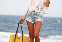 Beach wear! / by AshLeah Craig