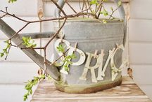 Spring Decor / by Sue Young
