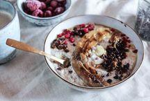 porridge / oat, buckwheat, quinoa, amaranth, millet...