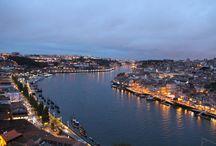 Porto / Porto - Portugalia  Miasto winem płynące.. Piękne widoki, street art i mury obronne, a do tego wspaniała architektura i położenie terenu.