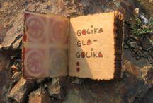 BOOKVA / Here I post my book-art ones, which i called 'Glagolika'