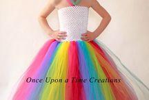 vestito arcobaleno