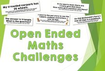 Open ended maths tasks year 1