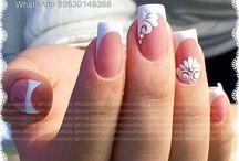 Wedding manicures & pedicures