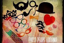 Photo Booth Props ( Propsuri pentru evenimente) / Photo Props for weddings, corporate event, parties and other reunions;  Accesorii petreceri ( nunti, evenimente corporate, petreceri si alte tipuri de reuniuni);  https://www.facebook.com/PhotoPropsBucuresti