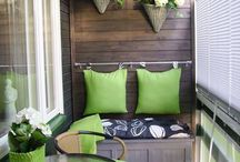 Balcony for Small Space