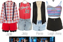 Girls Band OUTFITS