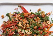 Thai veggie salary recipe