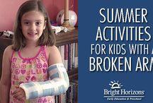Broken arm Summer