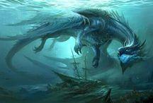 dragon acuatico