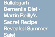 Alzheimer dementia diet etc
