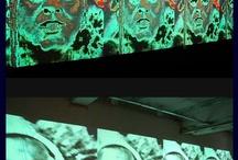 Tecnofagias / Tecnofagias é a integração estética entre o low e high tech e a ciência de ponta e a ciência de garagem. O conceito foi criado para definir um segmento da produção artística brasileira que se caracteriza pelo uso crítico e criativo das tecnologias e da cultura digital.  O conceito foi criado por Giselle Beiguelman professora da FAU e curadora da III Mostra 3M de Arte Digital.