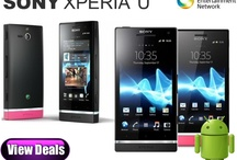 Sony Xperia U Deals / Free Sony Xperia U contract deals with the cheapest UK prices for line rental on pay monthly contracts.