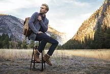Warm, cozy men's winter footwear / Sheepskin and wool footwear for men.